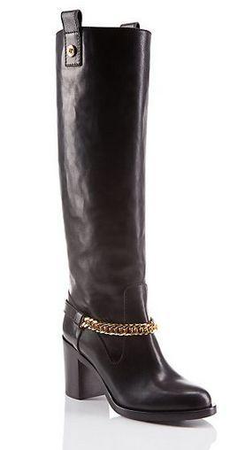 """ヴェルサーチ (VERSACE)ニーブーツ """"Signature"""" Knee Boots 1"""
