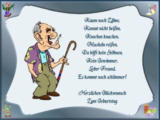 Gedicht zum 80 geburtstag opa lustig
