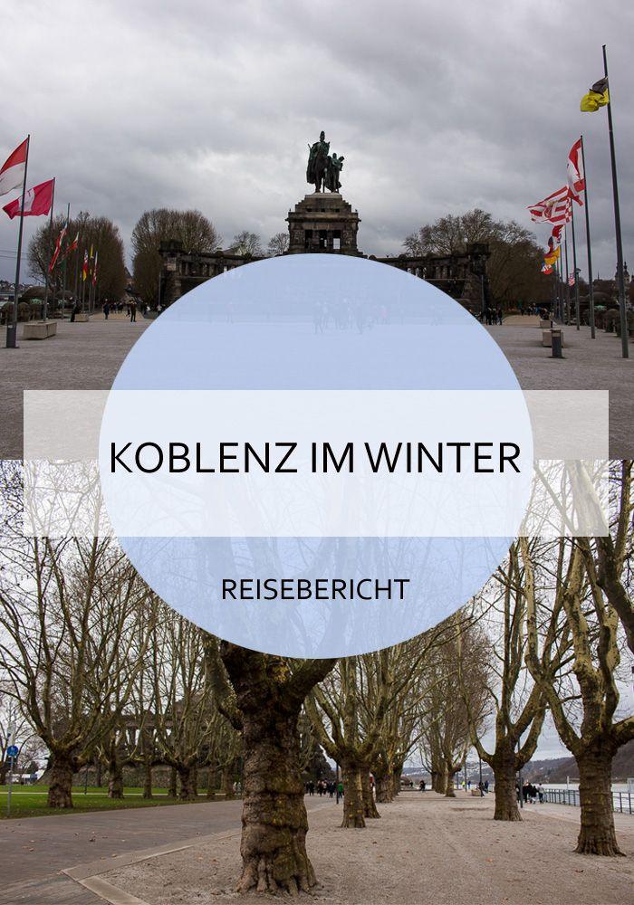Ein Winterspaziergang in Koblenz - was man entdecken kann und was es nicht zu sehen gibt. #koblenz #winter #spaziergang #deutschland #rheinlandpfalz #reiseblogger #reisebericht #reisen #altstadt #deutscheseck #rhein