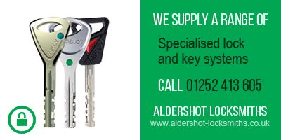 Specialised lock and key systems