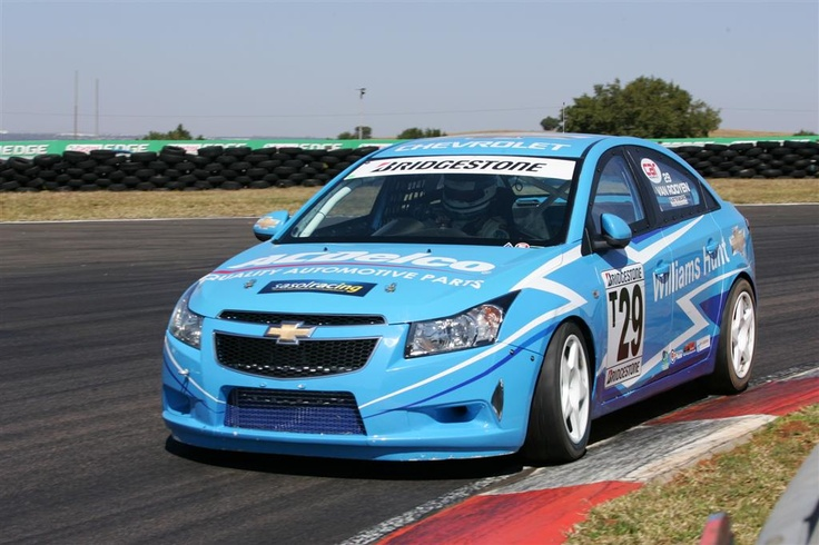 Our Chevrolet Cruze racing machine