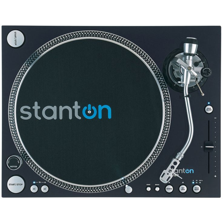 "Stanton ST-150 HP High Torque Digital Turntable ""S"" Tone Arm Record Player"