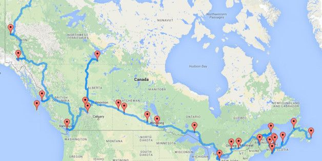 This Is The Ultimate Cross-Canada Road Trip