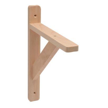bu0026q traditional wooden shelf bracket beech effect