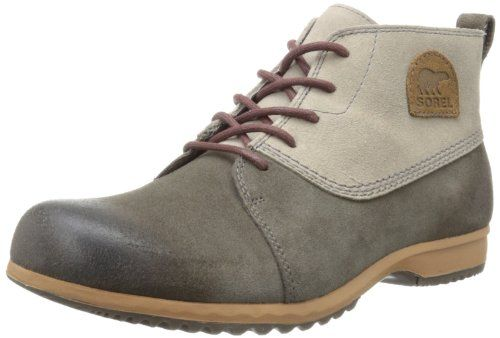 Sorel Men's Greely Chukka Boot -                     Price:              View Available Sizes & Colors (Prices May Vary)        Buy It Now      This Chukka-inspired all-weather boot has a waterproof suede upper that's burnished for vintage style.   Removable, microfiber EVA insole Rubber heel kick-off zone This...