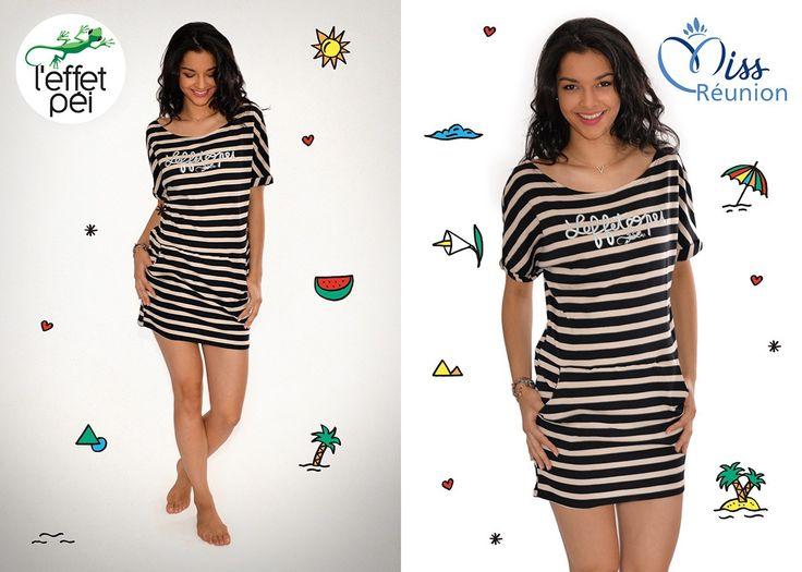 Azuima Issa Miss Réunion nous présente la Robe Olive