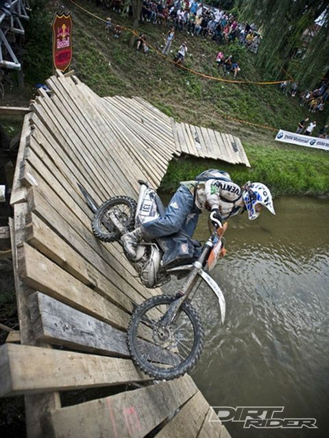 The well known bridge that is apart of one of the best races; Romaniacs!
