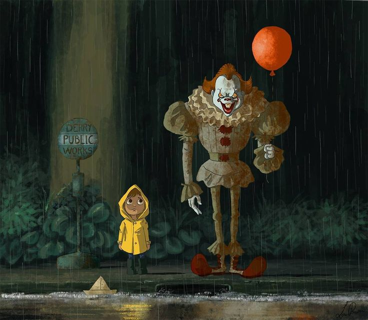 "6,764 Likes, 9 Comments - Comics Art (@comics_hall) on Instagram: ""#it #horror #movie #stephenking"""
