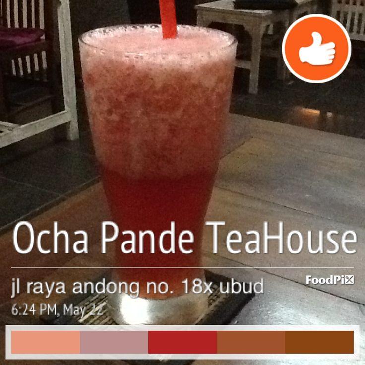 strawberry juice mix with tomato