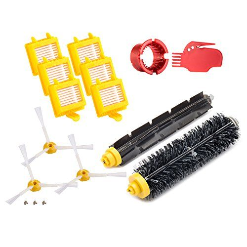 #super Fit Model: For iRobot Roomba 700 Series 760 770 780 790 What's in the box: 1 X #Bristle brush for iRobot Roomba 700 Series 760 770 780 790 1 x Flexible be...