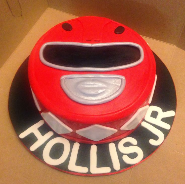 """Cakes by Mindy: Power Ranger Cake 6"""""""