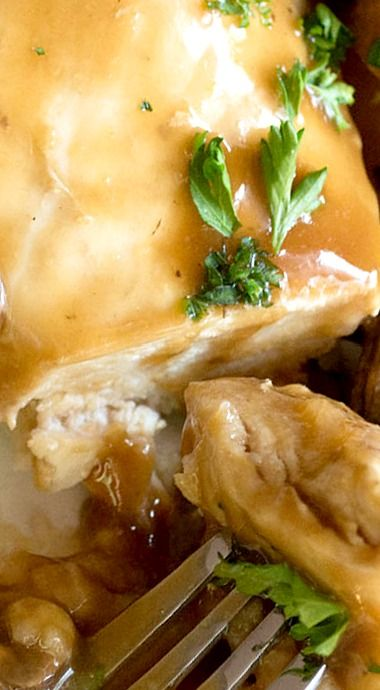 Slow Cooker Chicken Marsala.❊