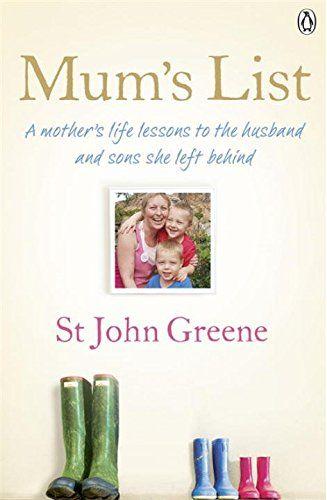 Mum's List by St John Greene https://www.amazon.co.uk/dp/0718158334/ref=cm_sw_r_pi_dp_x_1Rwoyb7AYCP57
