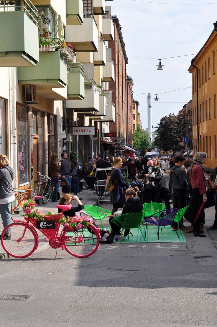 Nach der Idylle Rosendals Trädgård (der Start in meine Stockholm-Beiträge) folgen heute eine Reihe an Tipps für das Szene-Viertel Stockholms: Södermalm.