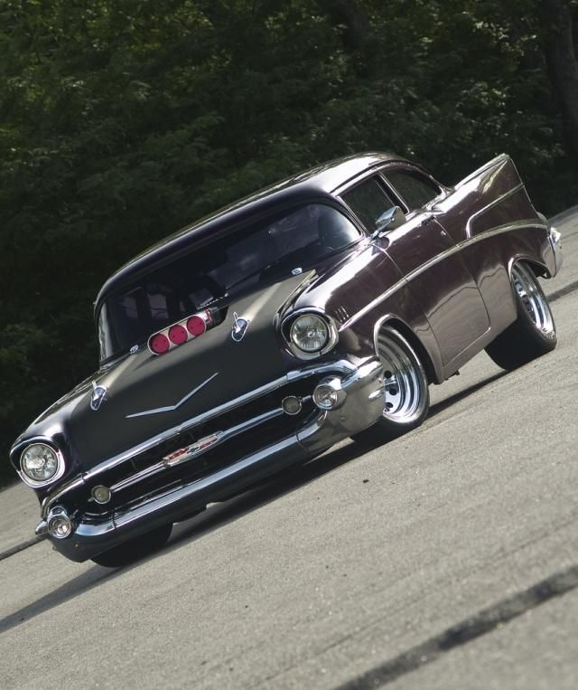 Chevrolet Bel Air Custom - 1957 Beautiful! ☠☠✯✯666✯✯☠☠