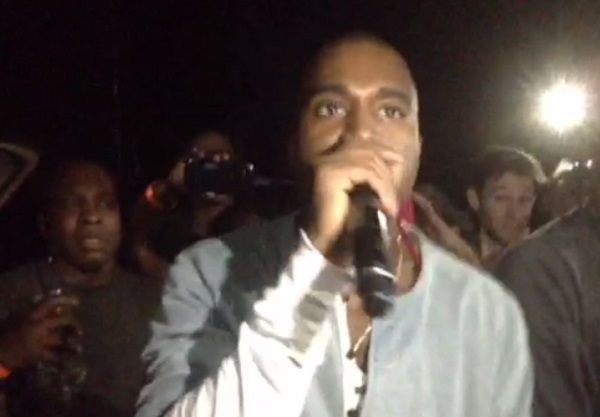 On Sight: Kanye West gets Loose Screams This is M**F** Pusha T