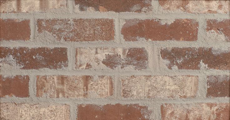 Glen Gery Wheaton Thin Brick That Has Been Tumbled And Over Mortared To Give The Product A True