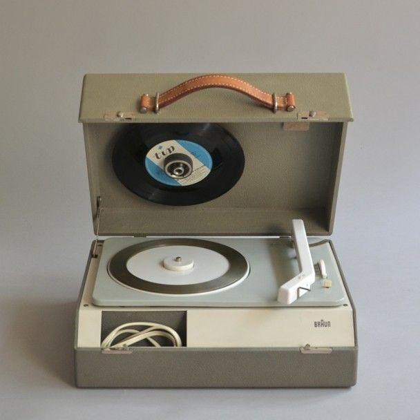 Braun PCK 4 portable stereo phonograph