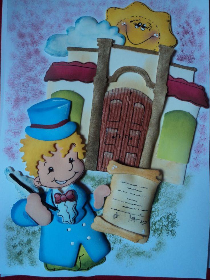 Cotillón Fiestas Infantiles: Carátula Escuela 9 de Julio día de la Independencia