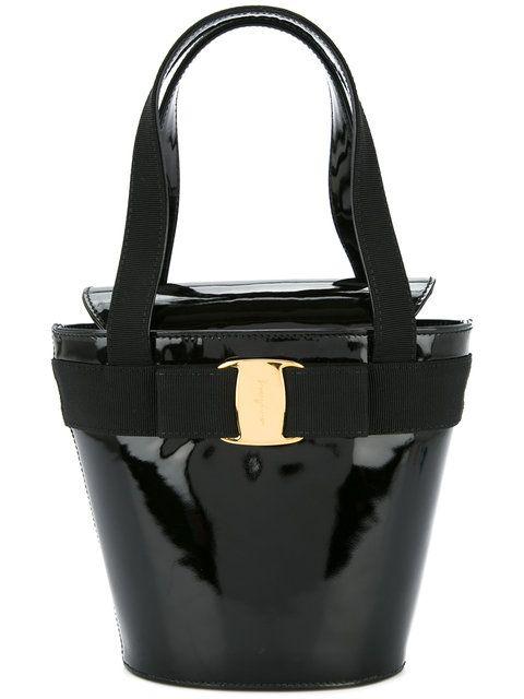 64f200c42e Salvatore Ferragamo Vintage Vara Bow handbag