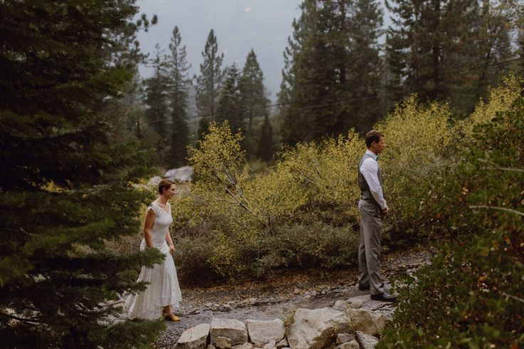 First Look at Lover's Leap by Megan Saul Photography  Lake Tahoe Wedding  Strawberry Lodge Wedding  #laketahoewedding #strawberrylodgewedding
