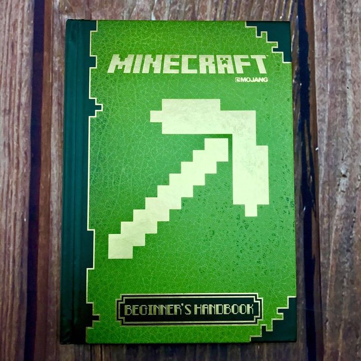 Official Minecraft Beginner's Handbook guide Mojang learn how to play survive