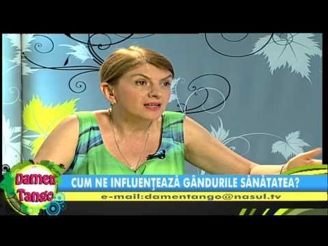 Cum ne influenteaza gandurile sanatatea ? Loredana Latis la Nasul TV 10 iunie 2013 - 2 - YouTube