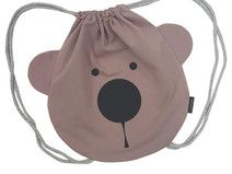Rucksack Kinder BEAR FACE rosa