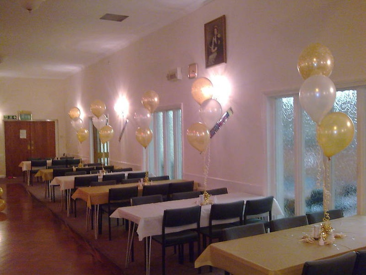 DIY-80th Birthday Party-Helium Balloons-Decorations
