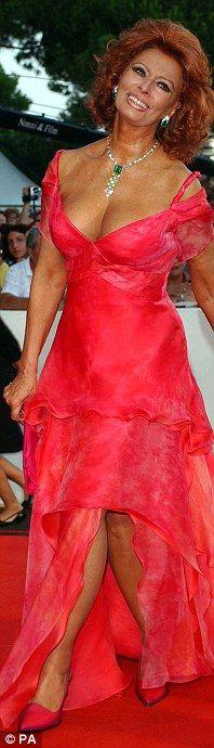 Still got it: Sophia Loren, 71, isn't getting out the polo-necks just yet