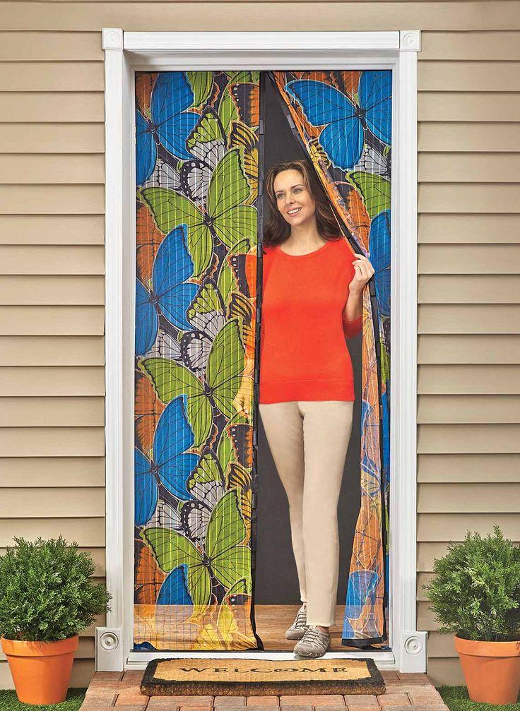 17 best ideas about magnetic screen door on pinterest for Retractable screen door magnets