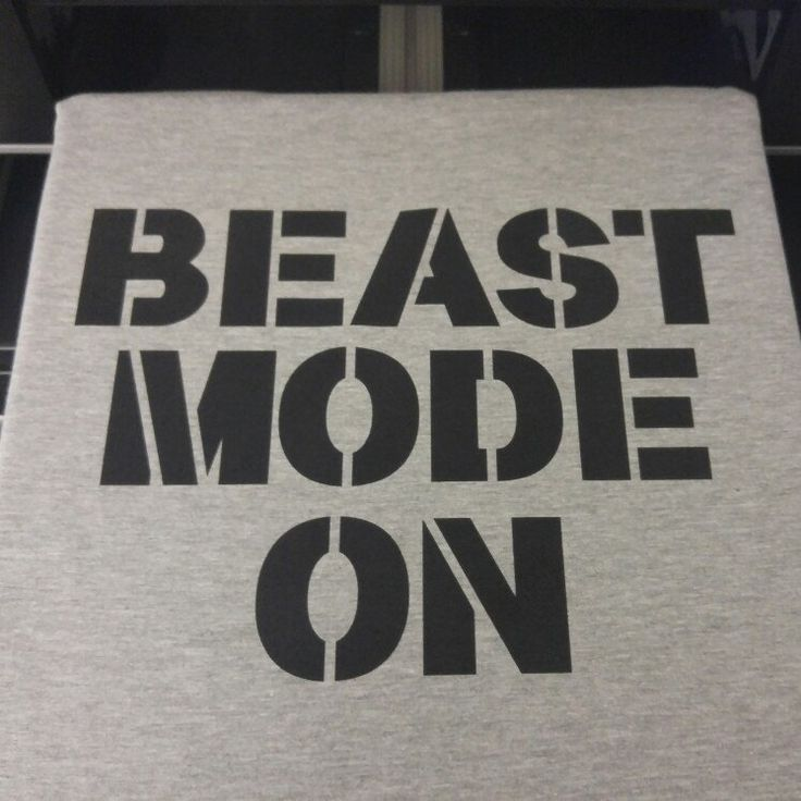 BEAST MODE ON Tshirt 💪😎👊