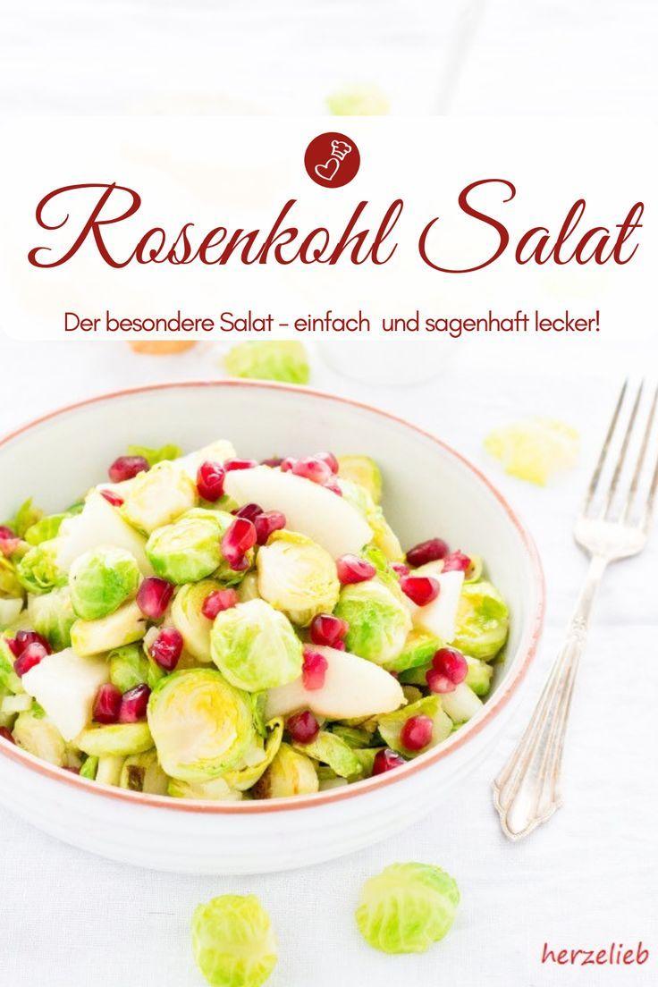 Warmer Rosenkohl-Birnen-Salat Rezept