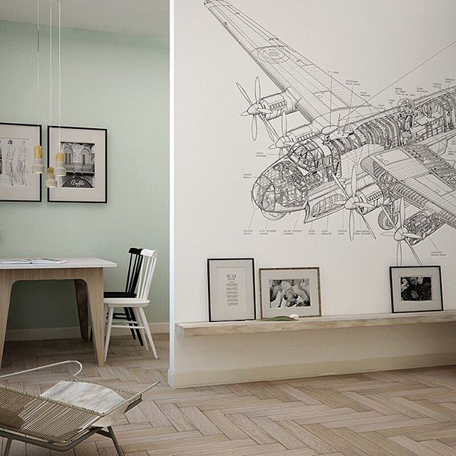 Обои Drawing plane 02. Ffactura.ru  #factura #wall #wallpaper #paper #interior #designer #art #painter #paint #room #3d #livingroom #kitchen #house #designinterior #дизайнквартиры #дизайнинтерьера #дизайнпроект #хипстер #фэшен #fashion #spb #saintpetersburg #piter #ремонт #мебель #интерьерныйсалон #гостиная #loft #обои