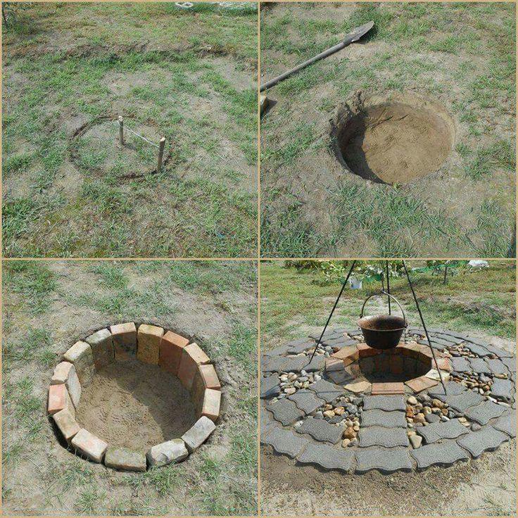 Top 25 Best In Ground Fire Pit Ideas On Pinterest