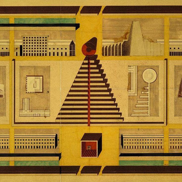 Un cubo, un cono, una città composta da forme geometriche: è il progetto di Aldo Rossi per il Cimitero di San Cataldo a Modena, iniziato nel 1971 e ad oggi non ancora terminato. Venite a scoprire il suo disegno esposto nelle nostre collezioni. Dal martedì al venerdì l'ingresso alla Collezione MAXXI è gratis! #CollezioneMAXXI //A cube, a cone, a city composed of geometric forms; this is Aldo Rossi's project for the San Cataldo Cemetery in Modena, begun in 1971 and still incomplete today…