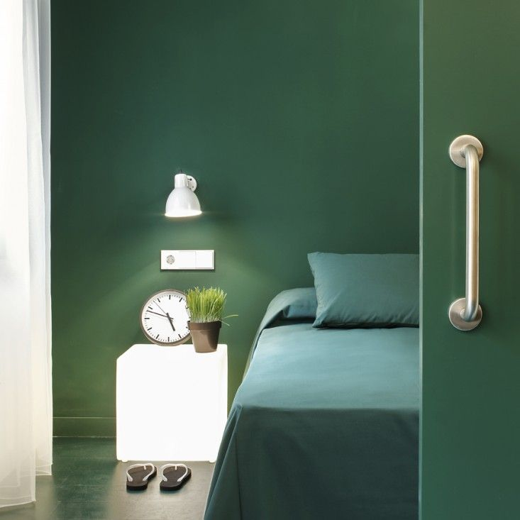 I just love all the green. Whotells From @Remodelista