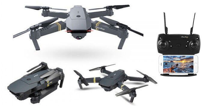 New Selfie Drone Goes Viral Hd Camera Drone Quadcopter