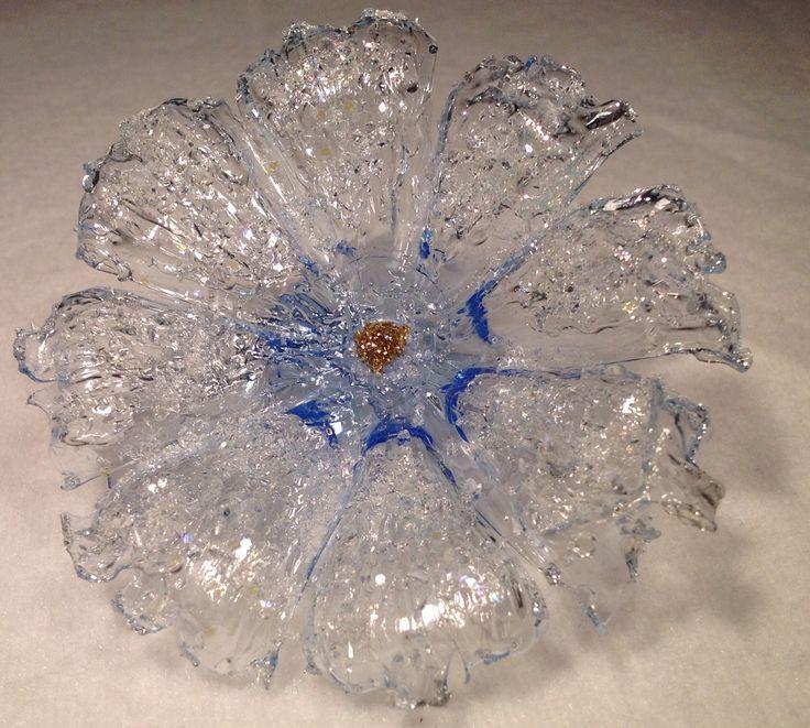 DIY fiori bellissimi come di cristallo. Riciclo plastica.