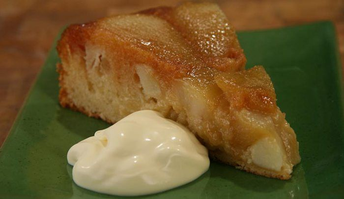 Caramel, Apple and Pear Pudding - Good Chef Bad Chef