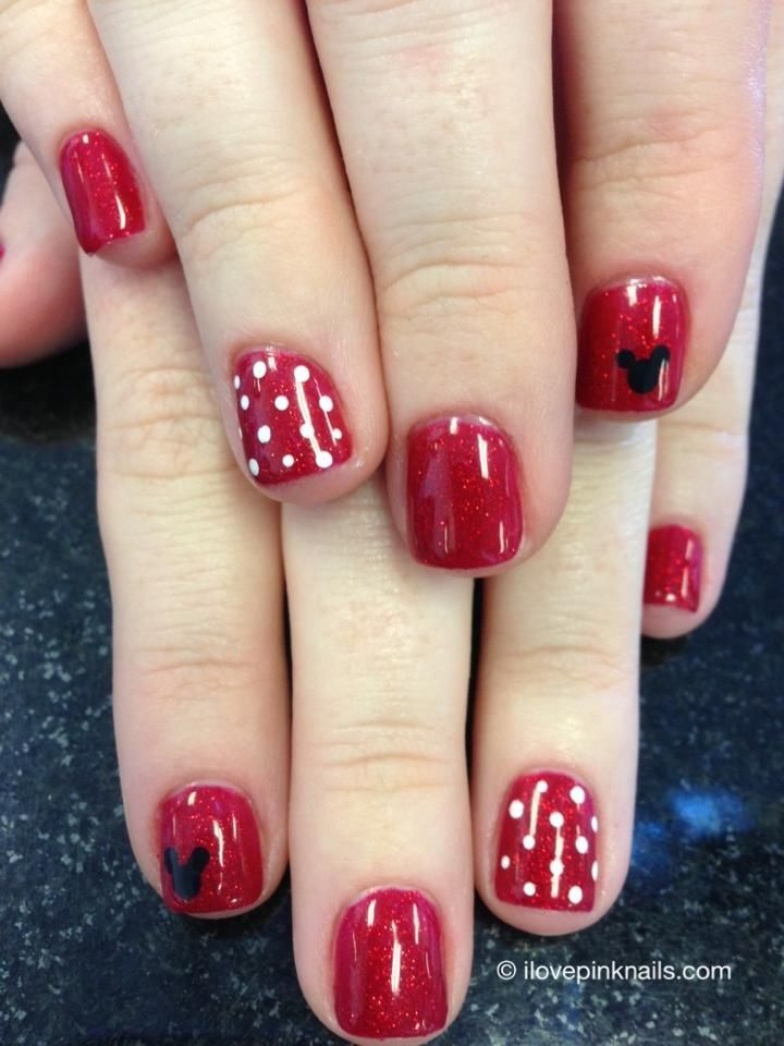 disney nail design ideas