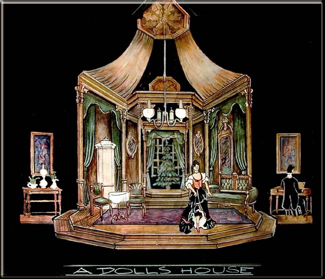 best districts images set design doll houses  a doll s house new york state theatre institute