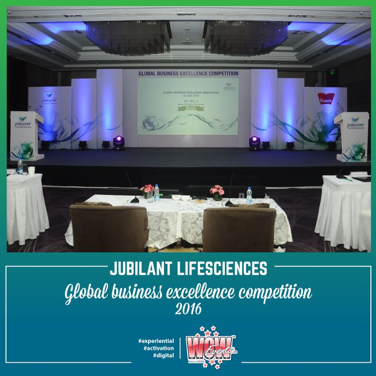 #Perfection consists not in doing #extraordinary things, but in doing ordinary things extraordinarily well!  Here is a glimpse from the recently executed Jubilant Life Sciences Global Business Excellence Competition 2016, #Delhi.
