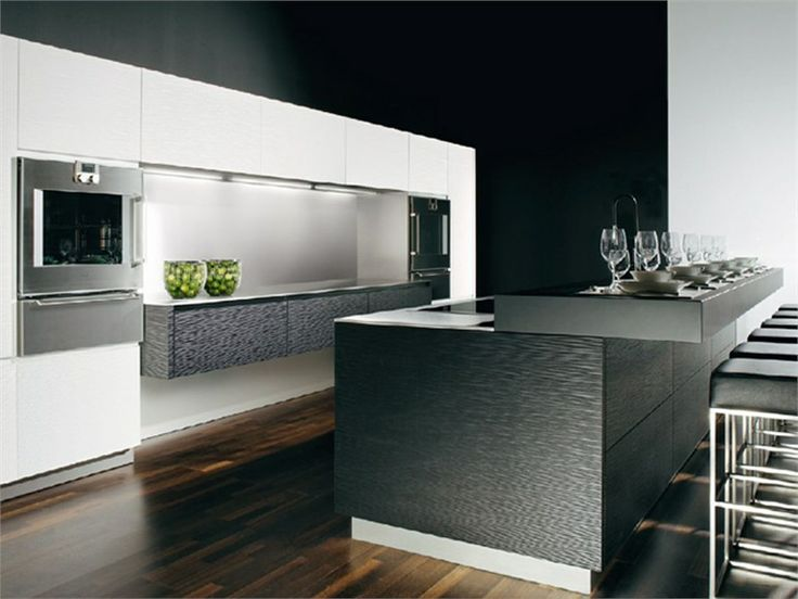 81 best Ultra Modern Kitchens images on Pinterest | Arquitetura, Contemporary unit kitchens and ...