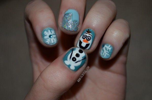 Best 25+ Olaf nails ideas on Pinterest   Disney frozen ...