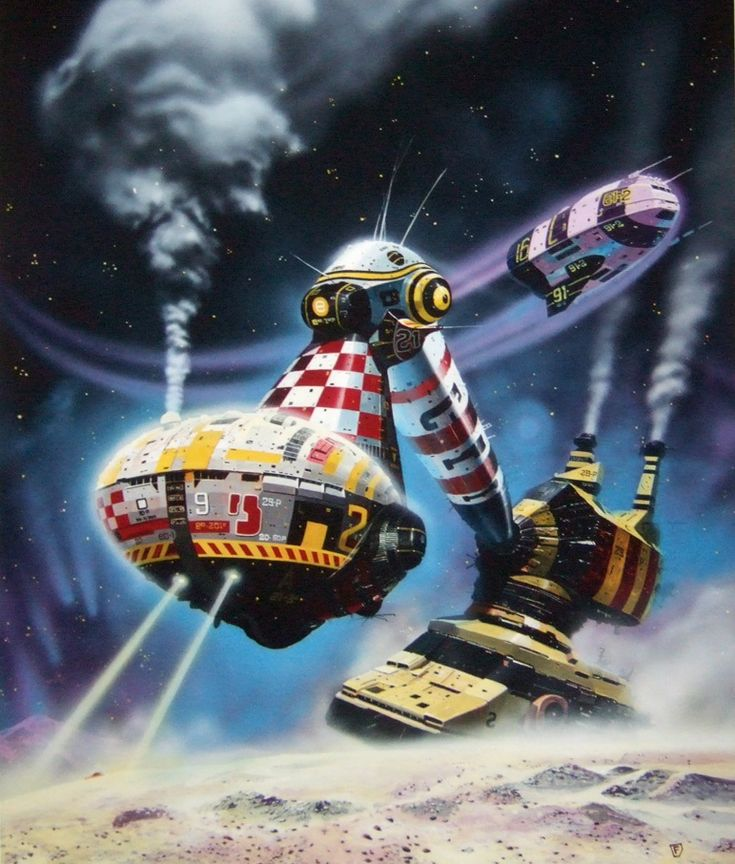 10 Cool Sci Fi Retro Artworks: 88 Best Chris Foss Images On Pinterest