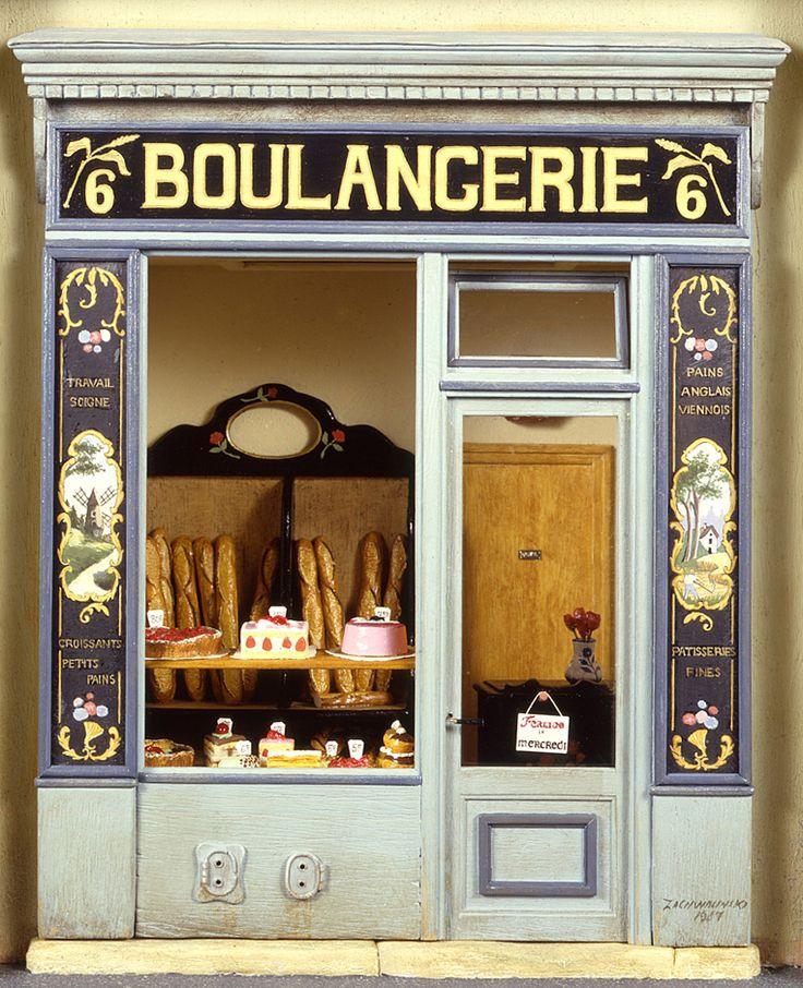 boulangerie mus e de la poup e paris collection of contemporary doll houses belonging to madame. Black Bedroom Furniture Sets. Home Design Ideas