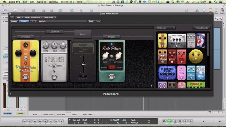 How to Use the Logic Pro Pedalboard
