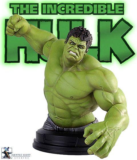 Mini-Busto Os Vingadores: O Incrível Hulk (Mark Ruffalo)