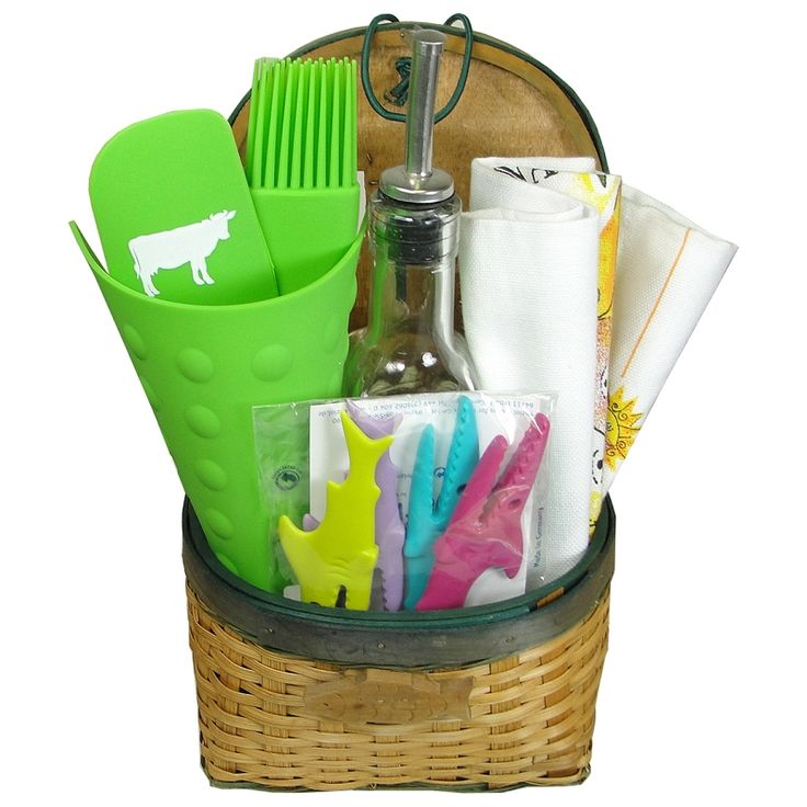 Small Kitchen Gift Ideas: Kitchen And Home Themed Small Gift Basket